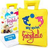 Lavdream Montessori Books for Toddlers - Learning Toys for Boys or Girls - Travel Toys for Toddlers - Preschool Learning Toys - Quiet Book for Babies - Washing Machine Toy for Kids - Quiet Busy Book