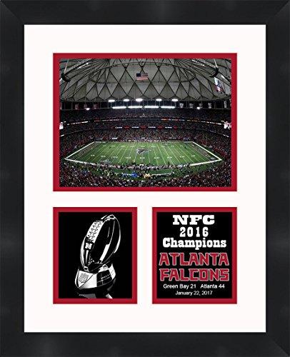 Atlanta Falcons NFC Champions Framed Collage