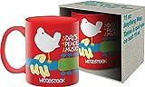 Aquarius 47100 Woodstock 11 Oz Boxed Mug Graphics, Ceramic, Red