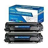 Fimpex Compatible Toner Cartucho Reemplazo para HP Laserjet Pro M1536dnf P1566 P1606dn CE278A (Negro, 2-Pack)