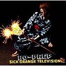 Sick orange television