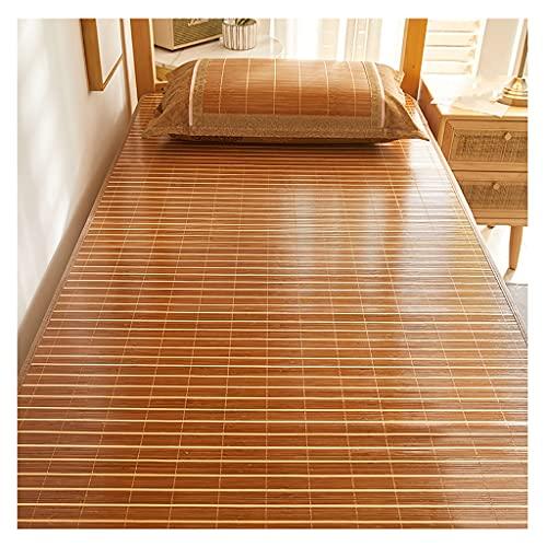 Colchoneta para Dormir de Verano Alfombrillas de Bambú de Doble Cara Alfombrillas de Ratán en el Dormitorio de Estudiantes Alfombrillas de Paja Alfombrillas de Seda Helada Múltiples Tamaños Para Ele