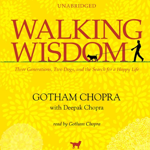 Walking Wisdom audiobook cover art