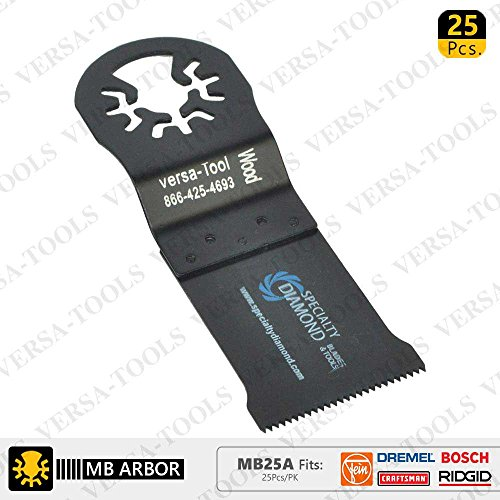 Best Prices! Versa Tool MB50A 35mm HCS Multi-Tool Saw Blades 50/Pk Fits Fein Multimaster, Dremel, Bo...