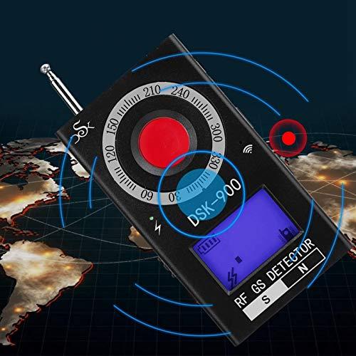 Yctze Signaldetektor Drahtloses Telefonsignaldetektor Vollfrequenzband-Signaldetektor zur Erkennung von Lochkameras(European Standard 110-240V)