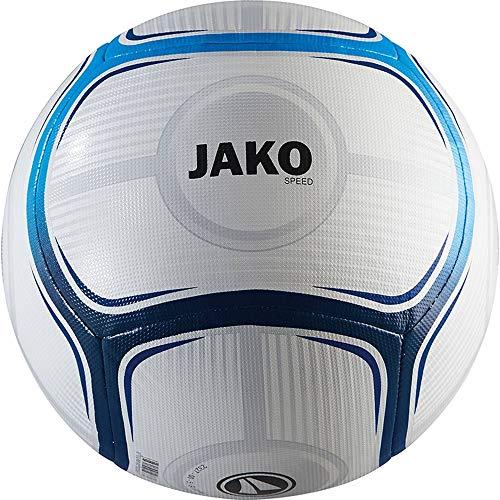 JAKO Trainingsball Speed Ball, weiß blau/Marine, 5