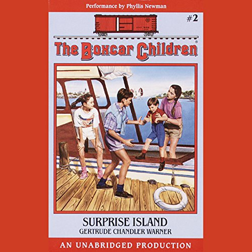 Surprise Island audiobook cover art