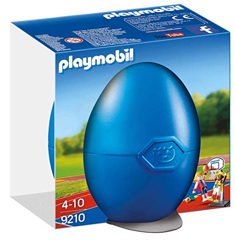 Playmobil-9210 Huevo de Pascua Jugadores Baloncesto (9210)