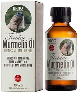 TIROLER TIROLER MURMELIN Öl 100% reines Murmeltieröl 100 ml