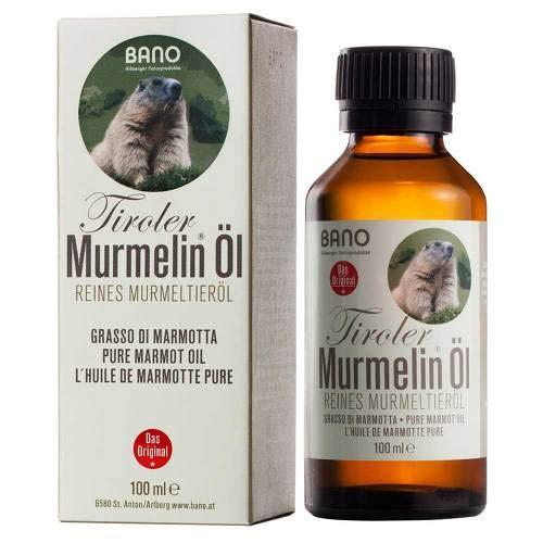TIROLER MURMELIN Öl 100% reines Murmeltieröl 100 ml Öl