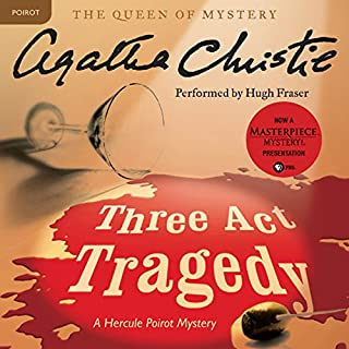 Couverture de Three Act Tragedy