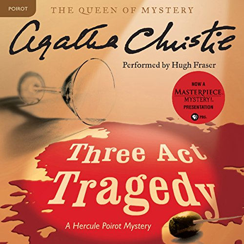 Three Act Tragedy Audiobook By Agatha Christie cover art