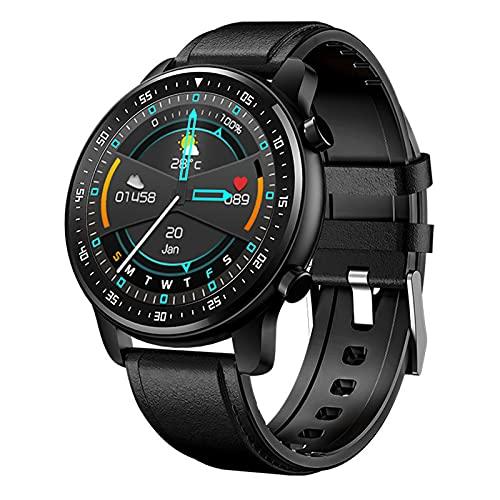 LJMG Reloj Inteligente, Mt1, Ritmo Cardíaco, Monitor De Sueño, Pulsera Impermeable, Control De Música De Modo Deportivo, Llamada Bluetooth Smartwatch Hombres Y Mujeres,B
