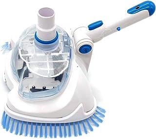 Cabezal de aspirador de alberca flexible para alberca, accesorio de limpieza portátil para alberca, cepillo para polvo de ...