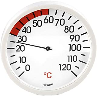 eliga Thermomètre pour Cabine infrarouge 120 mm
