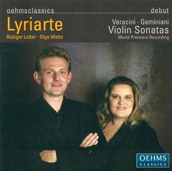 Geminiani, F.: Violin Sonatas, Op. 4 - Nos. 1, 8, 9, 10 / Veracini, F.M.: Violin Sonatas, Op. 1 - Nos. 7, 8