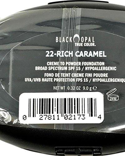 Black Opal True Color Creme to Powder Foundation Rich Caramel