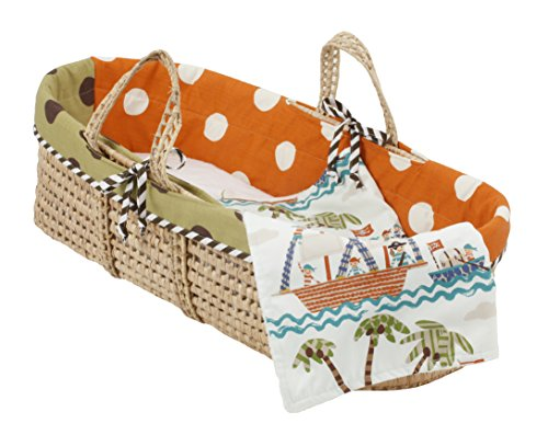 Cotton Tale Designs Moses Basket, Aye Matie