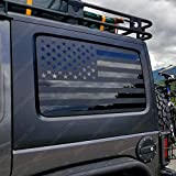 Skull Daddy Graphics JKU Hard top Window Flags to fit Jeep Wrangler 2007-2017 (JKU)