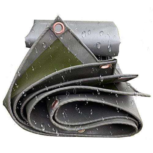Nologo * 6.5 pies 6.5 pies Remolque Lona Verde Lona Heavy Duty Agua sombrillas Resistentes Depot al Aire Libre, leña, Lona Tienda del pabellón BTZHY (Size : 13ft*32.8ft)