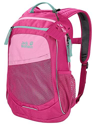 Jack Wolfskin 2009211 Kinder TRACK JACK bequemer Kinderrucksack, pink Peony, ONE SIZE