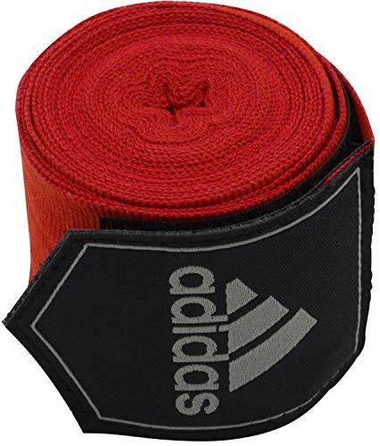 adidas Bandagen Boxing Crepe Vendaje, rojo, 2 x 3.5m, adibp03