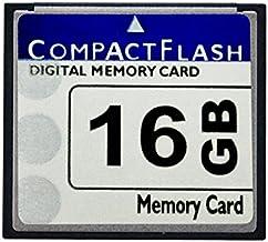 Bodawei Original 16GB CompactFlash Memory Card High Speed 133X (TS16GCF133) Industrial 16 GB Compact Flash Card for Canon ...