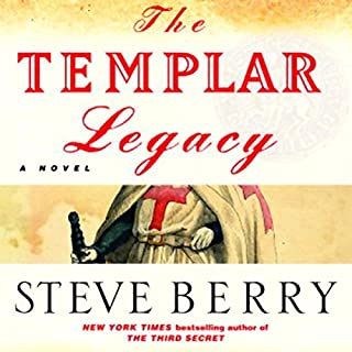 The Templar Legacy audiobook cover art