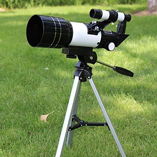 Astro Reflector Telescoop, Zoom Monoculaire Telescoop, Volledig Veelzijdig Gecoat Optische Glas Lens + Telefoon Clip+Statief, Tot 150 keer
