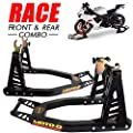 MOTO-D Race Front and Rear Stands (Black)