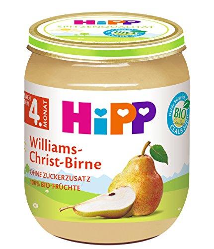 HiPP Früchte Williams-Christ-Birne, 6er Pack (6 x 125 g)