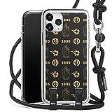 DeinDesign Coque Collier Compatible avec Apple iPhone 11 Pro Max Coque avec Cordon Coque avec Cordon...