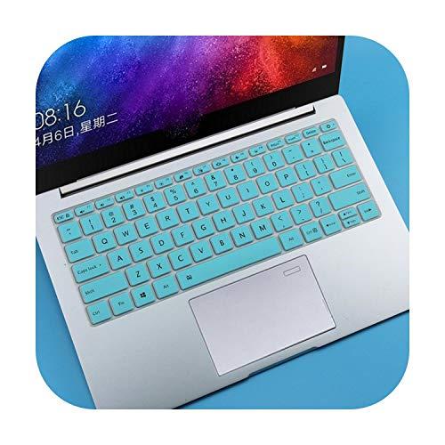 Silikon-Tastaturabdeckung für Xiaomi Mi Air 13,3 Zoll (33,8 cm) Mibook Air 13 Mi Notebook 13 – Weiß Blau
