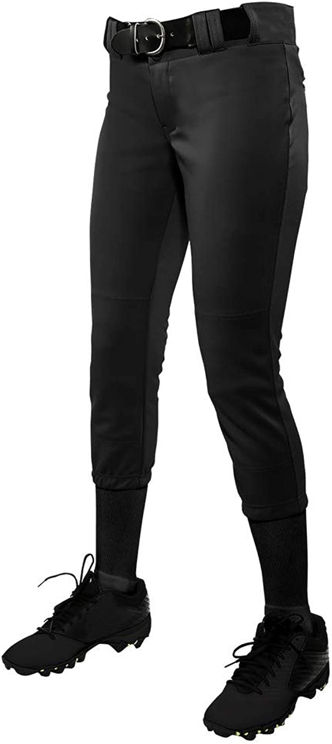 CHAMPRO LowRise BP11 Solid color Youth and Women's Fastpitch Softball Pants
