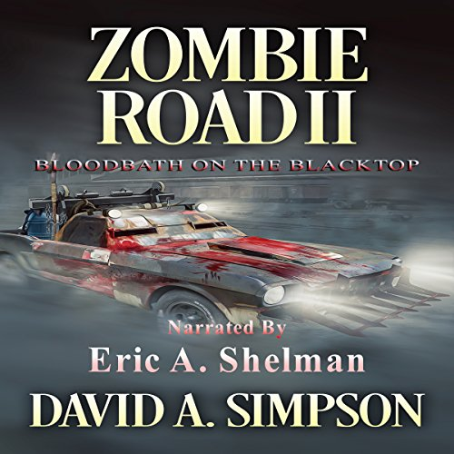 Zombie Road II audiobook cover art