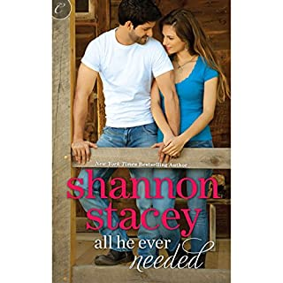 All He Ever Needed     The Kowalski Family, Book 4              By:                                                                                                                                 Shannon Stacey                               Narrated by:                                                                                                                                 Renee Werbowski                      Length: 6 hrs and 36 mins     308 ratings     Overall 4.1