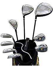 ORLIMAR(オリマー) ORM-800 メンズ ゴルフ フルセット スターターセット レフティー 【左用】 SR 9型 キャディバッグ付