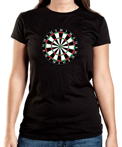 Certified Freak Dart Scheibe T-Shirt Girls Black M