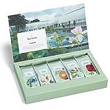 Tea Forte Fleur   Caja de 15 bolsitas de té monodosis   Surtido de 5 tés de la selección del Jardín Botánico de New York  