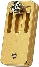 Stalen tape positionering blok, houtbewerking lijn locator scribe stalen liniaal positionering blok houtbewerking gele tim...