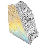 Bismuth Crystal, Bismuth Metal Ingot Chunk 99.99% Pure Crystal Geodes for Fishing Lures, Making Crystals About 1000g for Jewelry and Art