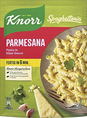 Knorr Spaghetteria Parmesana Fertiggericht Pasta (in Käse-Sauce) 1 x 163 g