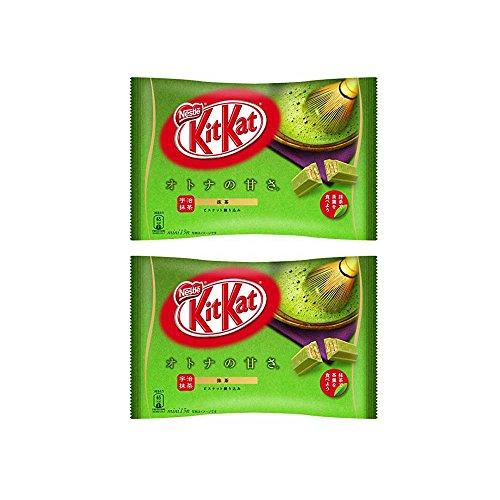 Kit kat chocolate Matcha green tea 13 bars 2 bags Japan import