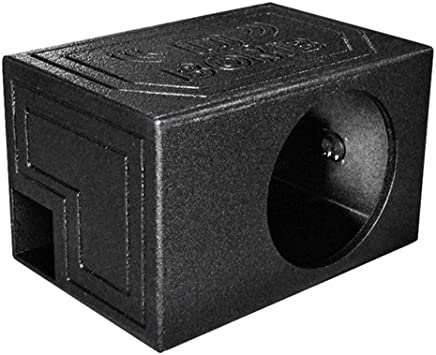 $73 » Q Power QBOMB12VL SINGLE Single 12-Inch Side Ported Speaker Box with Durable Bed Liner Spray