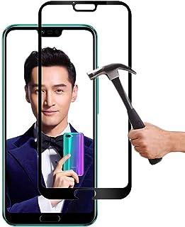 Lapinette Full Tempered Glass Compatibel met Honor 10 - Screenprotector van Gehard Glas Honor 10 Full - 9H Force Glass - V...
