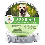 MC-Royal Zeckenhalsband für Hunde und Katzen - Effektiver Schutz vor Ungeziefern - wasserdicht und...