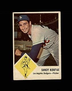 1963 Fleer Baseball #042 Sandy Koufax STARX 3 VG CS51131