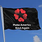 Elaine-Shop Las Banderas al Aire Libre Hacen Que Estados Unidos vuelva a ser Amable Bandera de 4 * 6 pies para la decoración del hogar Fanático de los Deportes Fútbol Baloncesto Béisbol Hockey