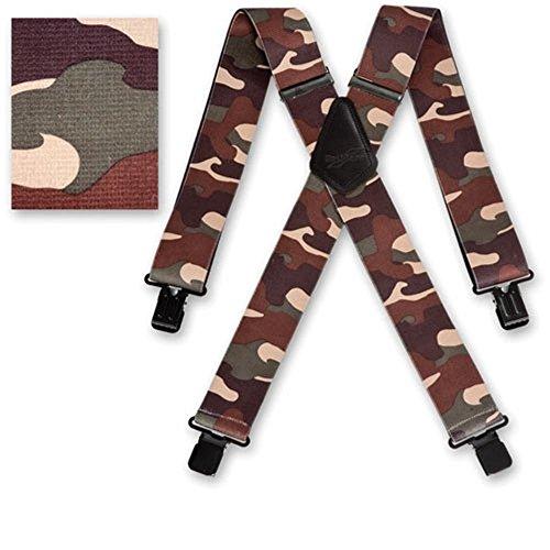 """Brimarc Bretelle De Pantalon Ceinture De Mens Résistant Camouflage Désert Bretelles 2"""" 50mm De Large"""