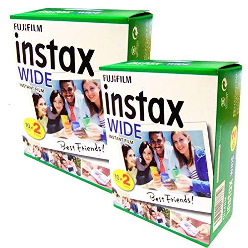 Fujifilm Fuji Instax Wide Film Belichtung für Polaroid 210 200, 40 Stück